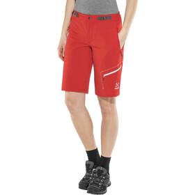 Haglöfs Lizard - Pantalones cortos Mujer - rojo